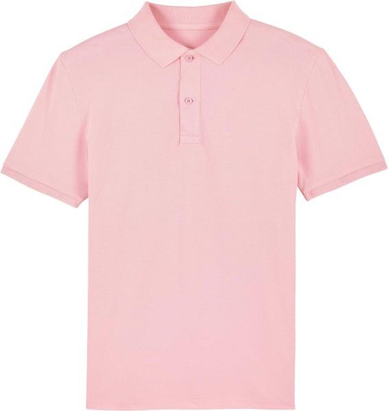 Piqué-Poloshirt aus Bio-Baumwolle - cotton pink