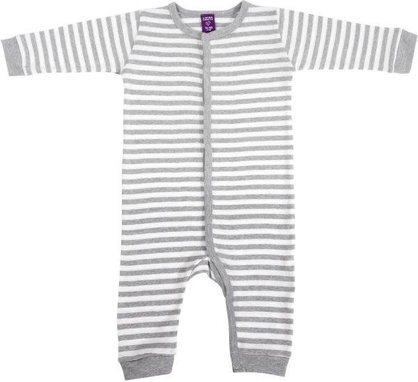 Baby Schlafanzug einteilig Bio-Baumwolle GOTS Feinripp