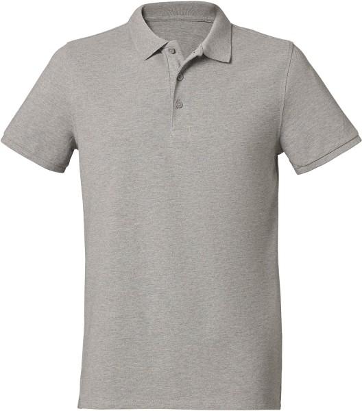 Competes - Klassisches Poloshirt aus Bio-Baumw. - grau-meliert