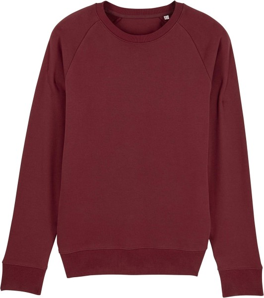 Sweatshirt aus Bio-Baumwolle - burgundy