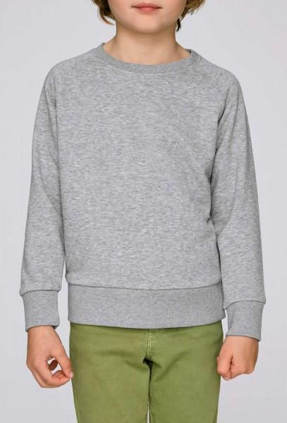 Kinder Mini Scouts - Unisex Sweatshirt BioBaumwolle - grau mel. - Bild 1