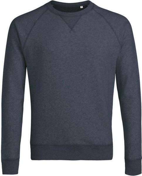 Strolls - Sweatshirt Bio-Baumwolle - dunkelblau meliert