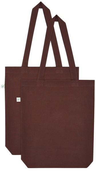 Doppelpack - Organic Cotton Bag - braun