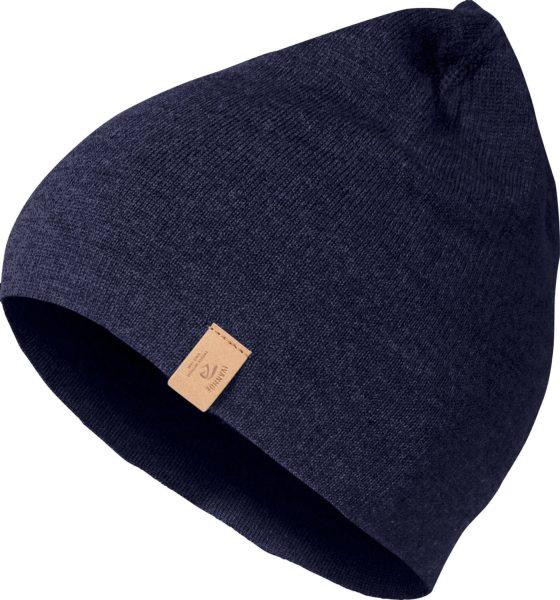 Mütze aus Merinowolle - navy