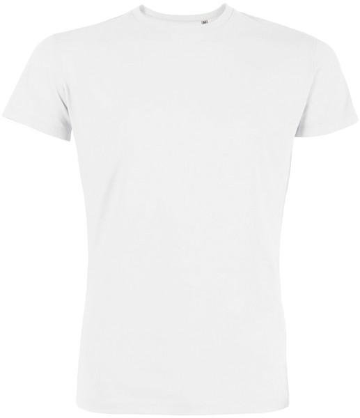 Leads - Kurzarmshirt aus Bio-Baumwolle - weiss