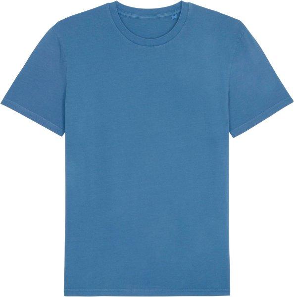 Vintage T-Shirt aus Bio-Baumwolle - g. dyed cadet blue
