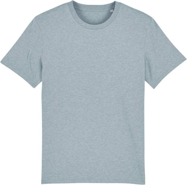 T-Shirt aus Bio-Baumwolle - heather ice blue