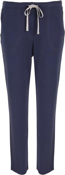 Lange Hose aus Biobaumwolle - navy