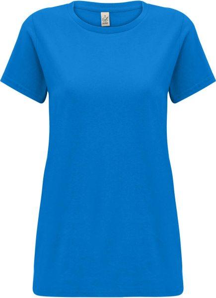 Organic T-Shirt CO2-neutral - bright blue
