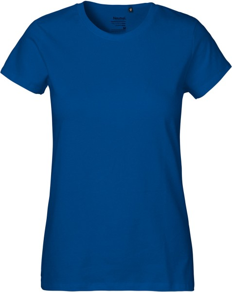 Classic T-Shirt aus Fairtrade Bio-Baumwolle - royal blue