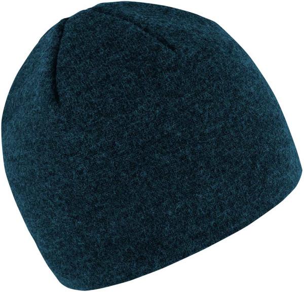 Mütze aus Merinowolle Storm - Made in Germany - nachtblau