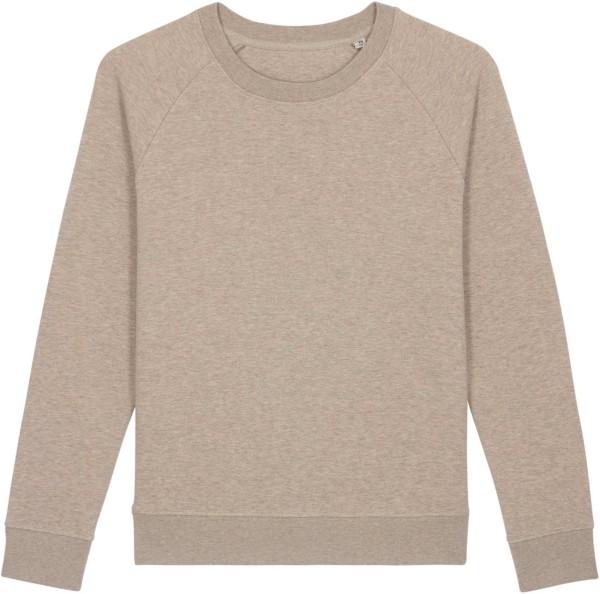 Sweatshirt aus Bio-Baumwolle - heather sand