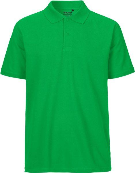 Polo Shirt grün Biobaumwolle fair - NE20080