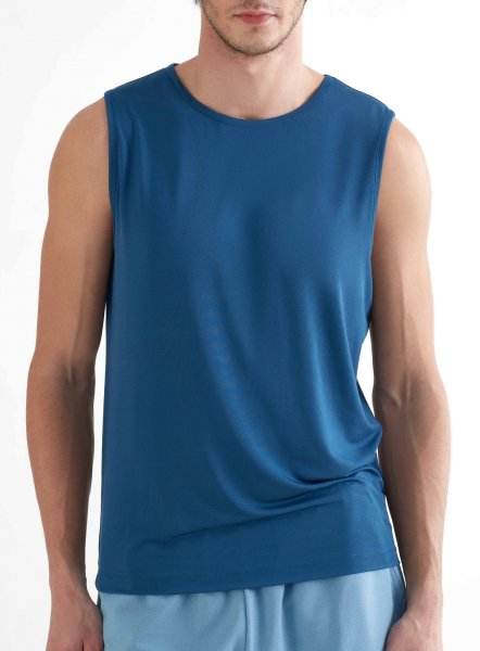 Active Tank Top aus Recycle-Polyester - petrol