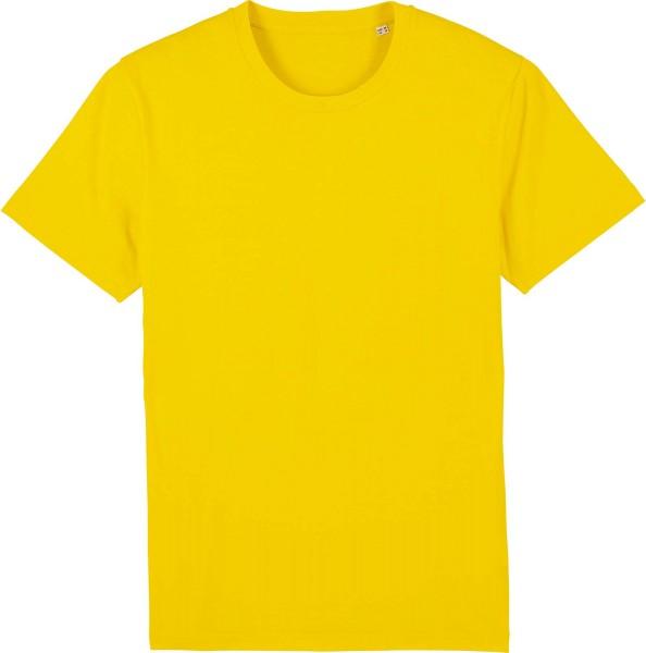 T-Shirt aus Bio-Baumwolle - golden yellow