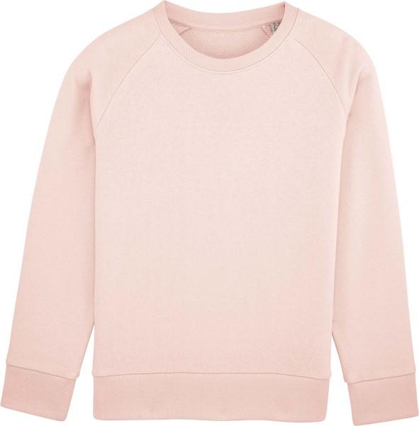 Unisex Kinder Sweatshirt Bio-Baumwolle - candy pink