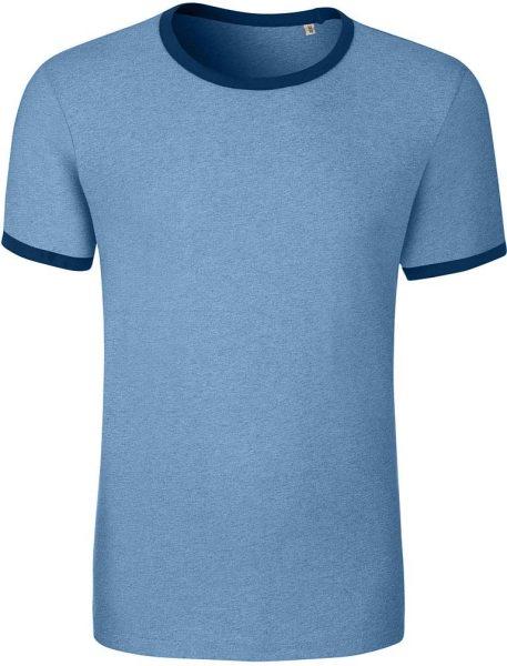 Holds - Retro T-Shirt aus Biobaumwolle - mid heath. blue - Bild 1