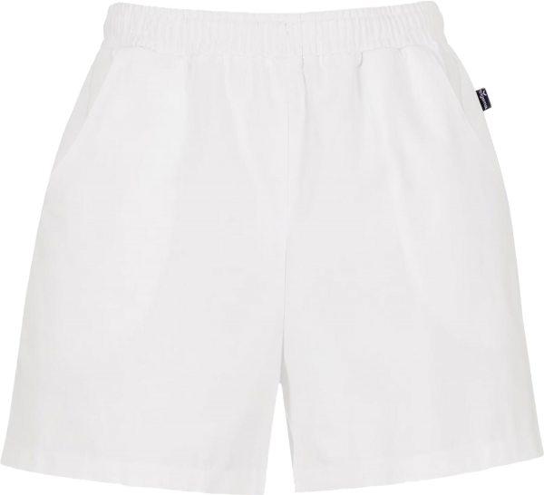 Shorts aus reiner Baumwolle - weiss