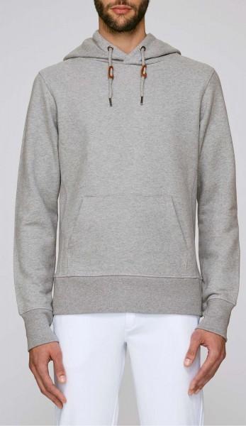 Tell - Extra schwerer Hoodie aus Bio-Baumwolle - heather grey - Bild 1