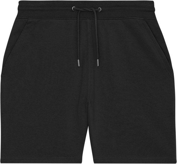 Joggingshorts aus Bio-Baumwolle - black