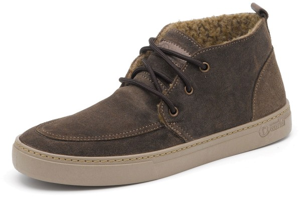 Safari Suede Wool - Wildlederschuhe gefüttert - marron