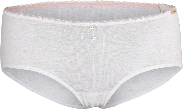 Panty aus Fairtrade Biobaumwolle - perle gestreift