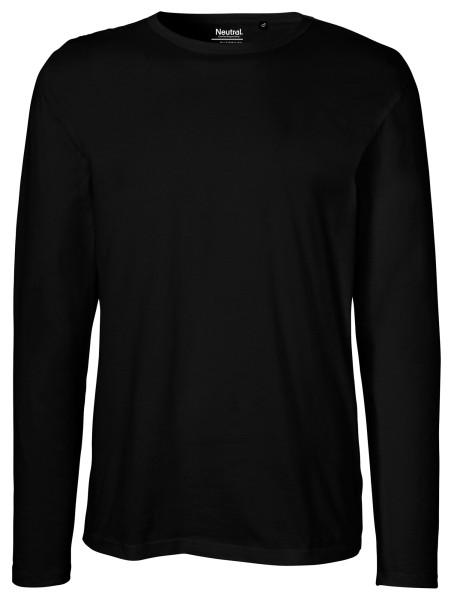 Neutral - Herren Longsleeve Shirt - schwarz