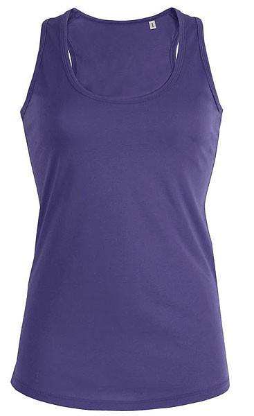 Tank-Top aus Bio-Baumwolle - purple