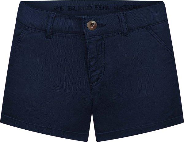 Chino Shorts aus Bio-Baumwolle - blue