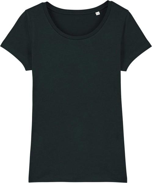 Jersey-Shirt aus Bio-Baumwolle - black