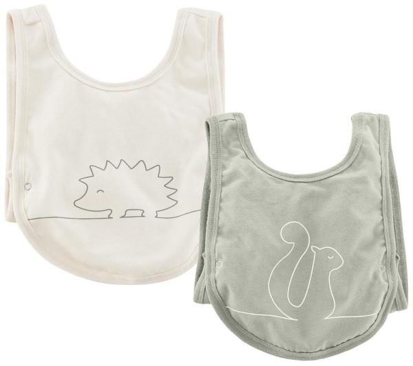 Baby Lätzchen Bio-Baumwolle Living Crafts