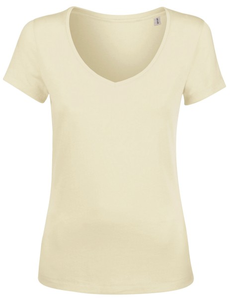 Chooses Damen V-Neck Shirt Biobaumwolle