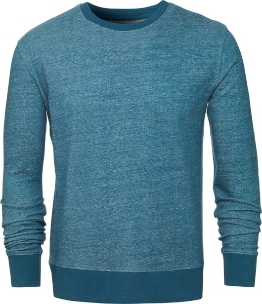 Sweatshirt aus Bio-Baumwolle - dark heather teal