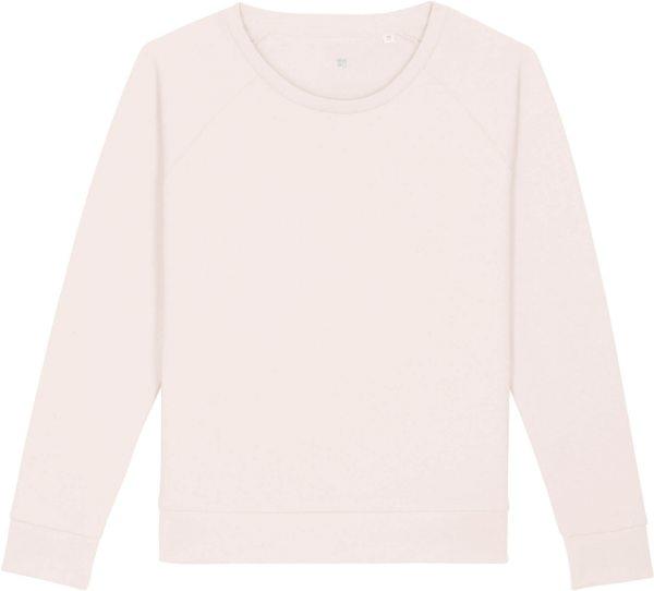 Sweatshirt aus Bio-Baumwolle - vintage white