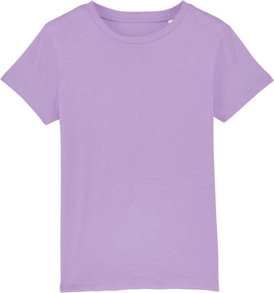 Kinder T-Shirt aus Bio-Baumwolle - lavender dawn