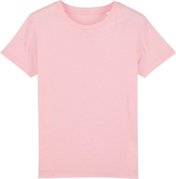 Kinder T-Shirt aus Bio-Baumwolle - cotton pink