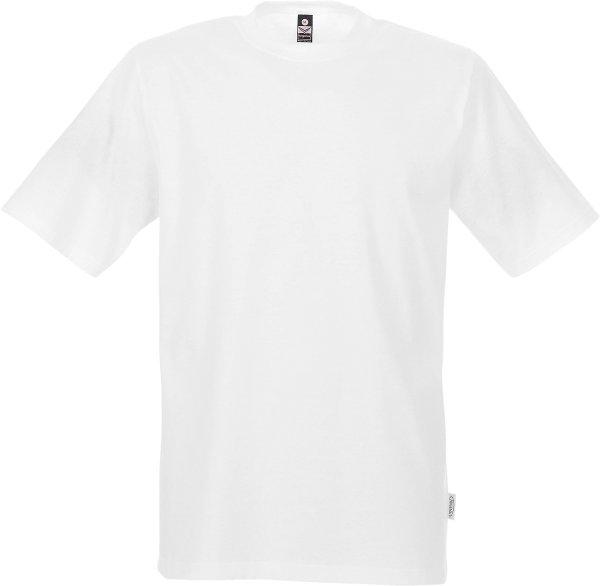 Klassisches T-Shirt aus Baumwolle - weiss