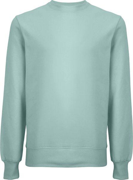 Unisex Sweatshirt aus Biobaumwolle - slate green