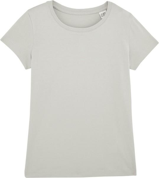 Kinder T-Shirt Bio-Baumwolle - light opaline