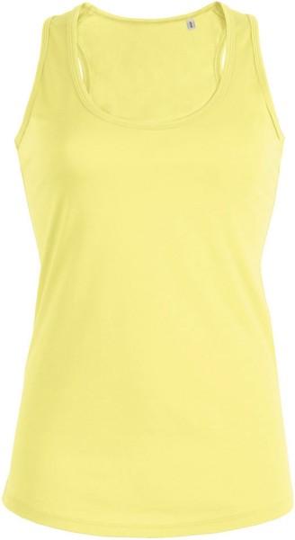 Tank-Top aus Bio-Baumwolle - iris yellow