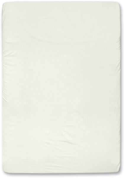 Spannbettuch aus Bio-Baumwolle - natur - 140 x 200 cm