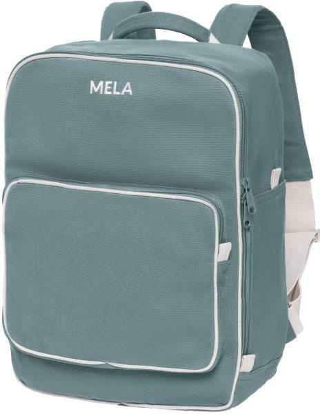 Fairtrade Rucksack MELA II aus Bio-Baumwolle - petrol