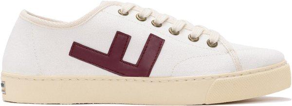 Rancho V.2 - Canvas Sneaker aus Bio-Baumwolle - white burgundy ivory