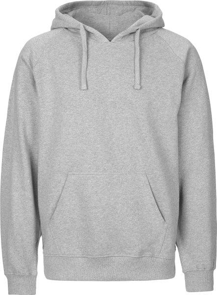 Hooded Sweatshirt aus Fairtrade Bio-Baumwolle - grau meliert