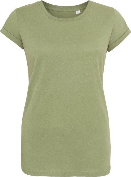 Organic Rock'n'Roll T-Shirt - soft olive