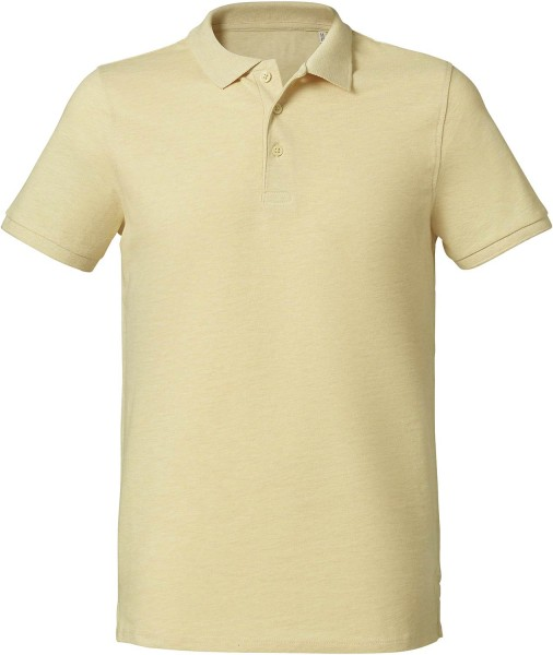 Competes - Klassisches Poloshirt aus Bio-Baumwolle - light heather yellow