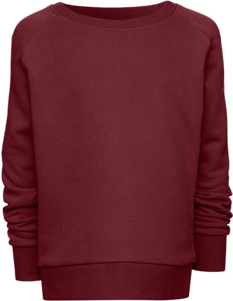 Kinder Mini Scouts - Unisex Sweatshirt BioBaumwolle - burgundy