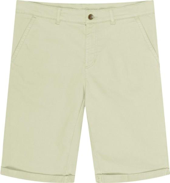 Walkshorts - Chino-Shorts aus Bio-Baumwolle - oliv