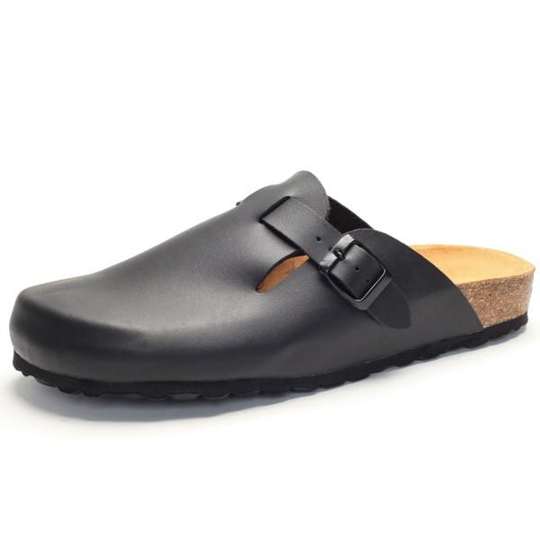 Schwarze Herren Clogs 101539