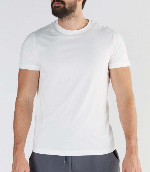Active T-Shirt aus Bio-Baumwolle & Modal - white